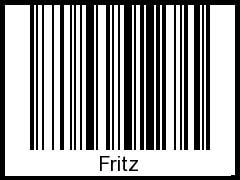 Fritz als barcode